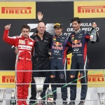 Sebastian Vettel trionfa a Monza. Prima parte.