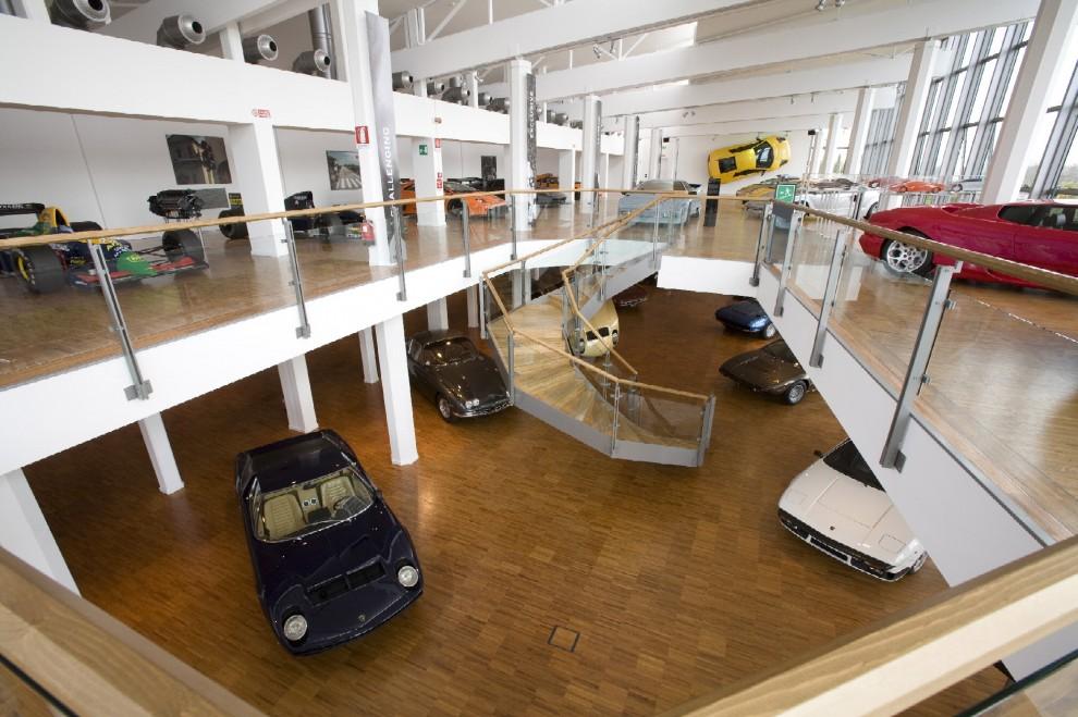 Il museo della Lamborghini