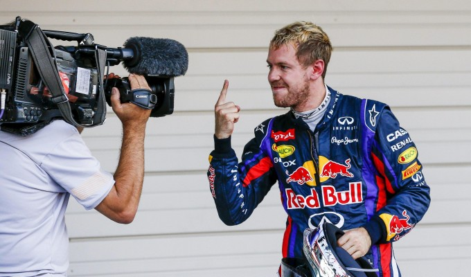 Trionfo Vettel in Giappone