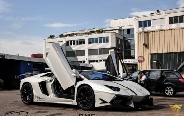 Lamborghini Aventador DMC Special Edition