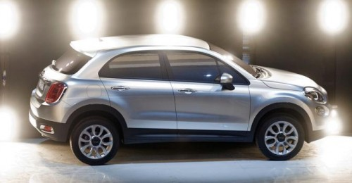 The new Fiat 500L car is seen during its official presentation in downtown