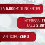 Fiat, il Natale porta promozioni
