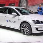 Volkswagen, con la E-Golf elettrico è bello