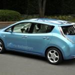 Nissan Leaf, per l'elettrica 5.000 euro di incentivi
