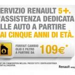 Servizio 5+, manutenzione Renault a prezzi scontati